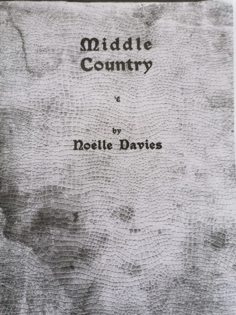 Cover of Middle Country - picture courtesy of Helga Mullins.